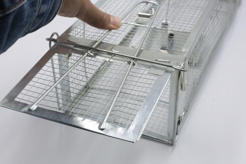 捕鼠夾價格-專業的雙門手可折型老鼠籠供貨商
