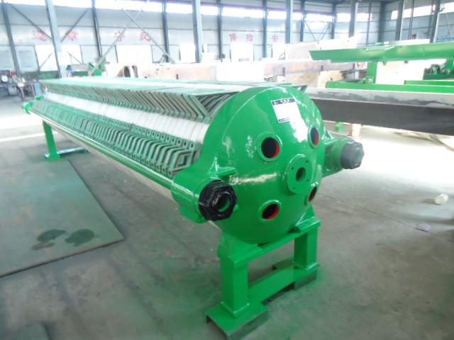 广西压滤机的工作过程和电气故障