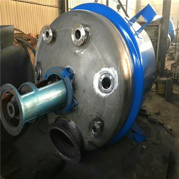 二手搪瓷反应釜市场-大量出售二手不锈钢反应釜