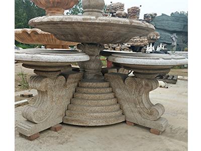 石雕音乐喷泉日常保养注意事项