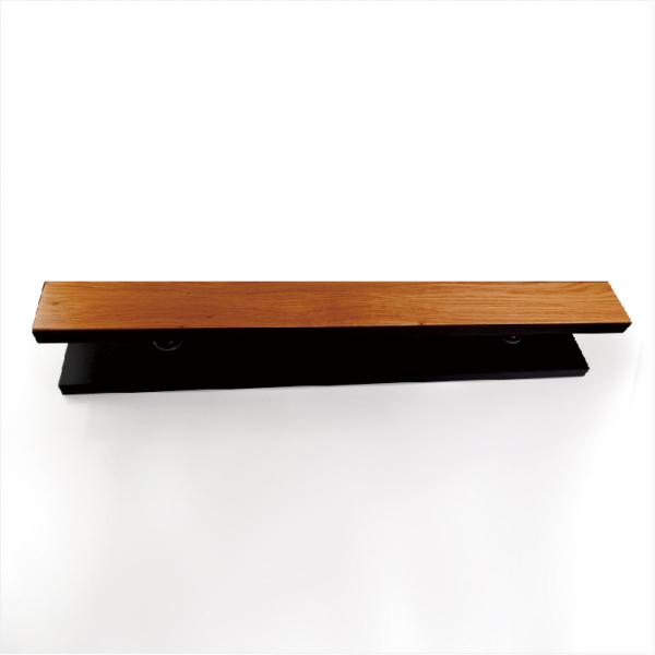 黑色不锈钢框实木拉手