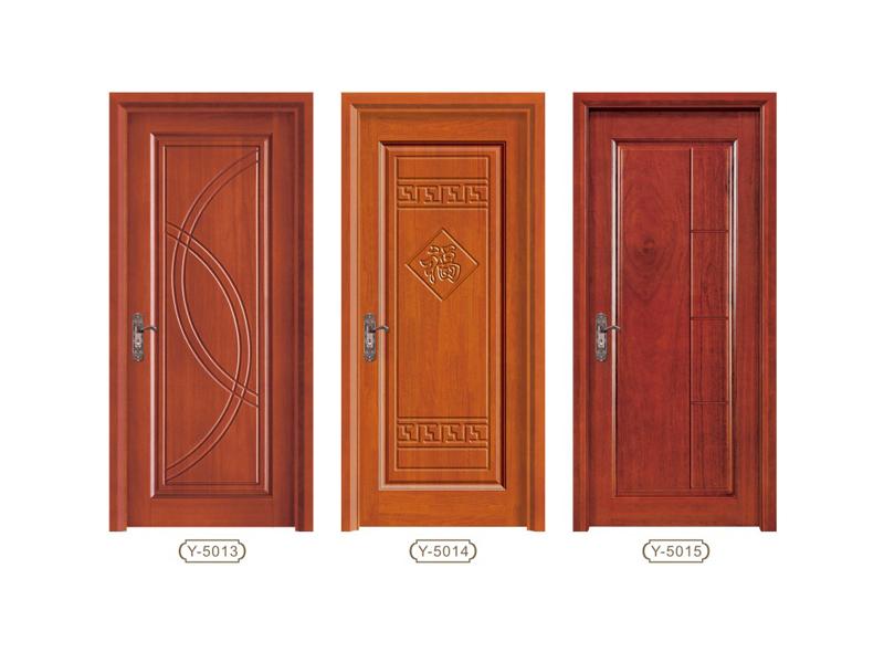推荐肇庆实惠的平雕门系列 实木烤漆门定做