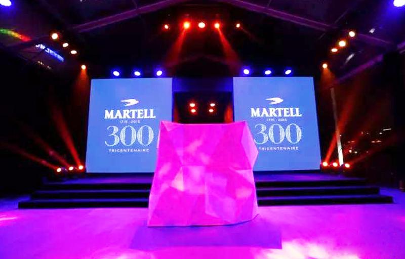 马爹利三百年全球庆典