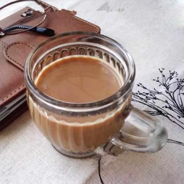 厂家直销100ML竖条纹把子杯 牛奶杯 玻璃杯 咖啡杯 随手杯
