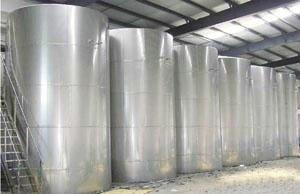 大量二手不锈钢储罐