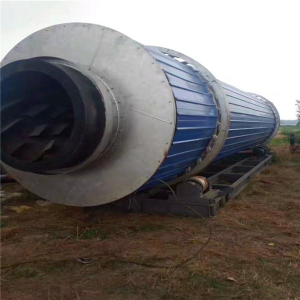 二手滚筒干燥机-直径1.5米长15米 哪里能买到称心的二手滚筒烘干机