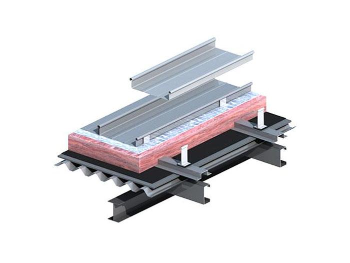 隐藏式直立锁边铝镁锰屋面系统