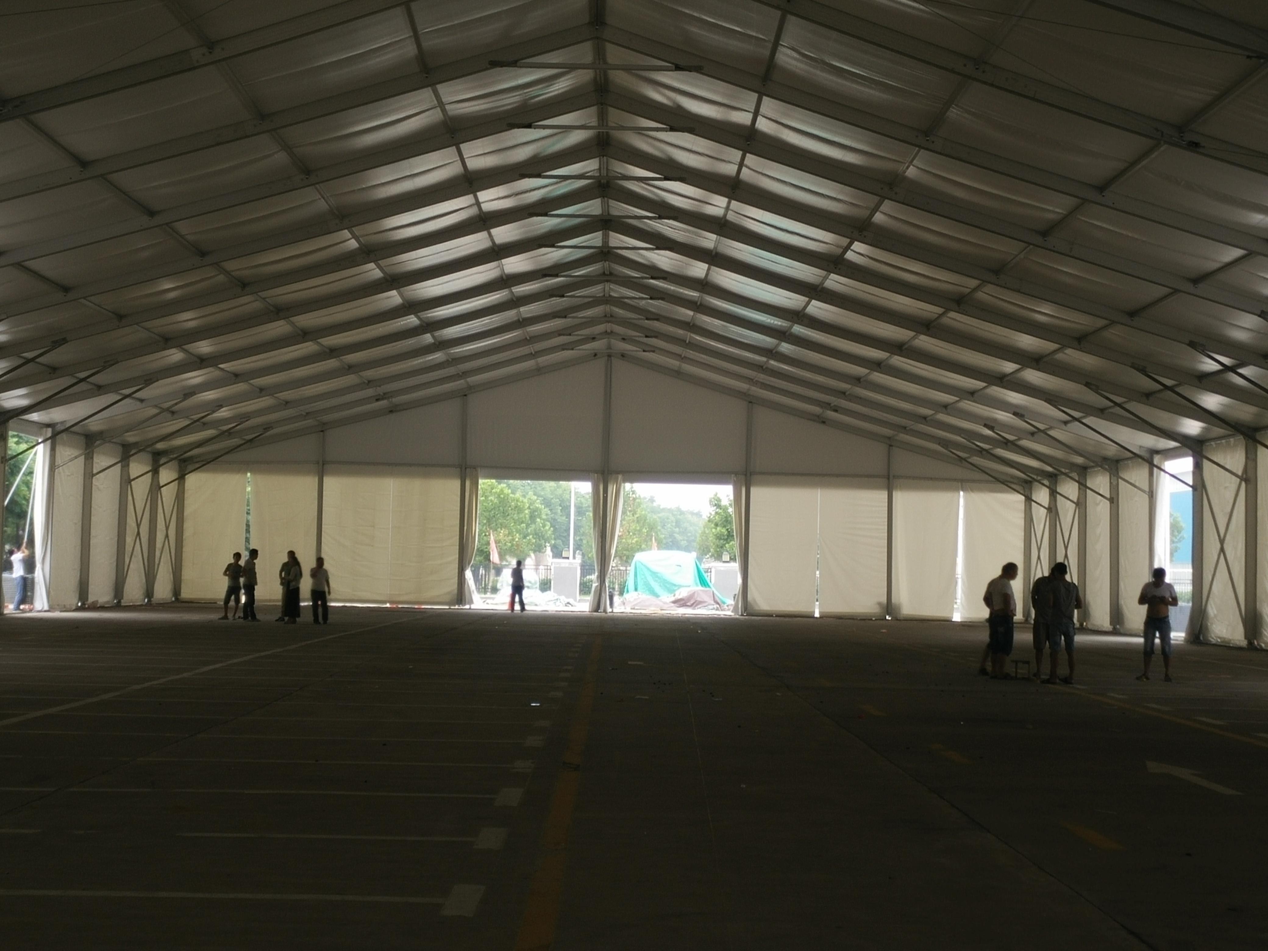 郑州工业篷房尺寸的计算方法及篷布清洗方法有哪些