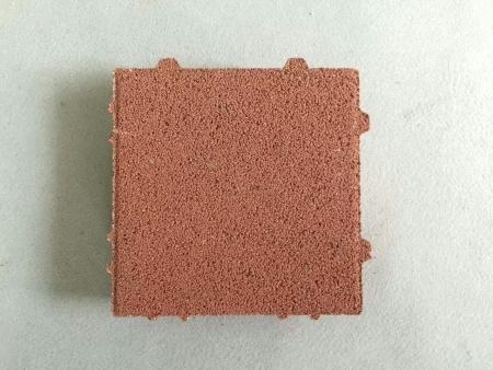 缝隙式透水砖