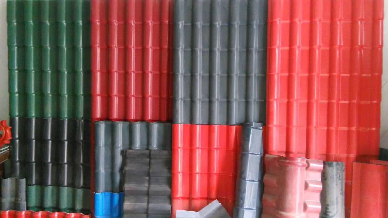 商丘弘益環保實用的樹脂瓦供應-三門峽樹脂瓦公司