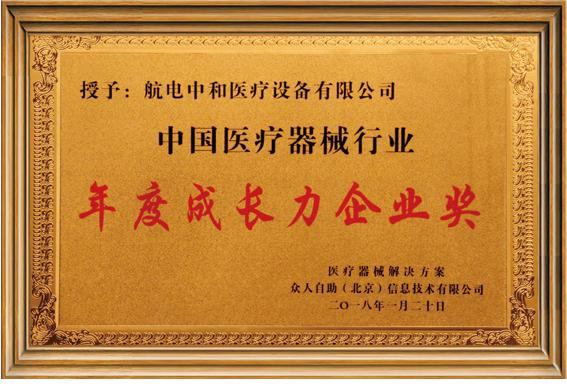年度成长力企业奖