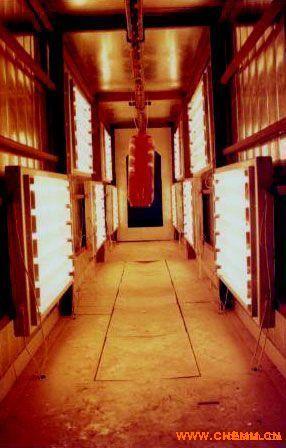 红外辐射热风装置