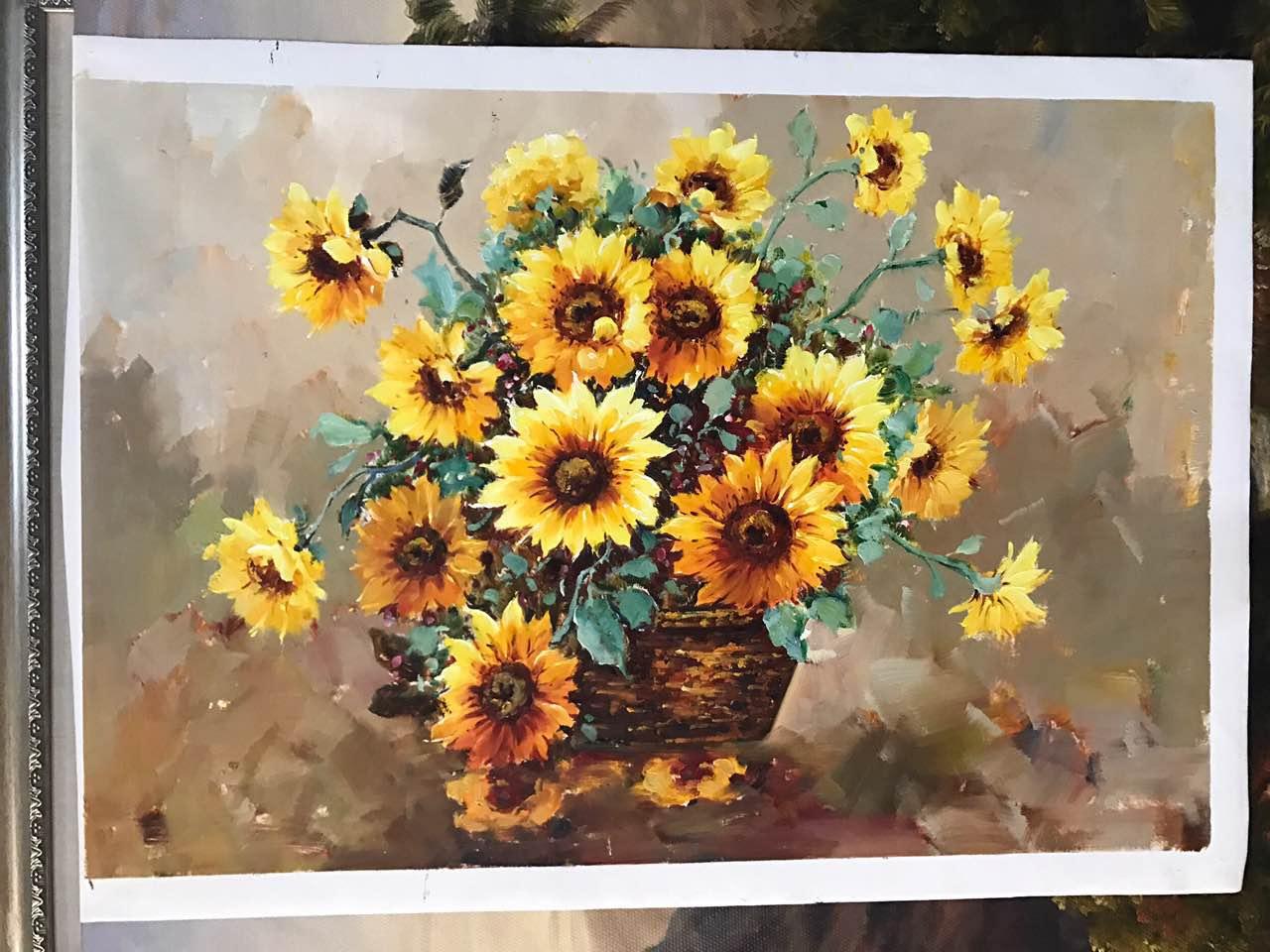 油画花卉选购找哪家福建-花卉油画_精美艺术品