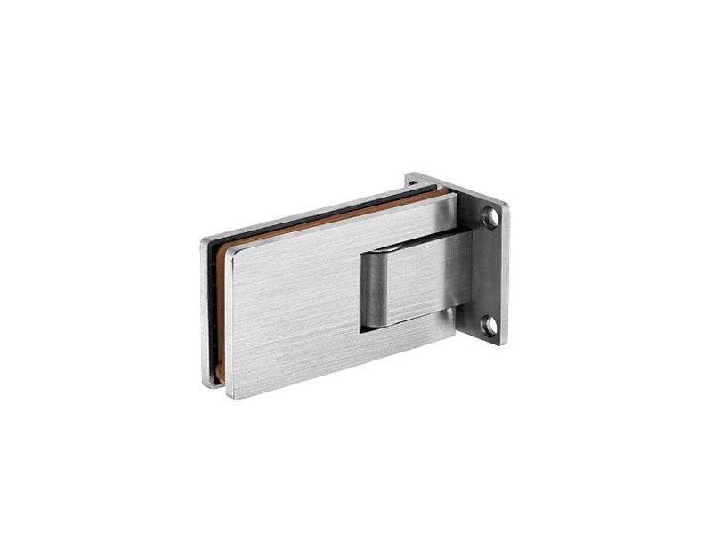 辉士达门控五金提供专业的不锈钢浴室夹, 双开玻璃门锁