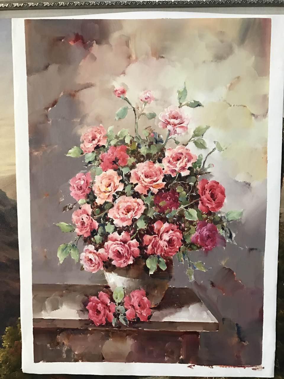 油画花卉购买咨询热线福建-抢手的花卉油画推荐