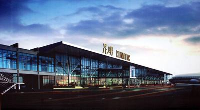 昆明机场主体钢结构管柱配套项目