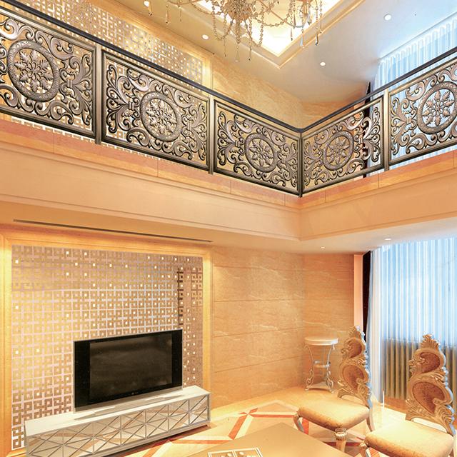 楼梯栏杆扶手设计要领的介绍及其优势的说明