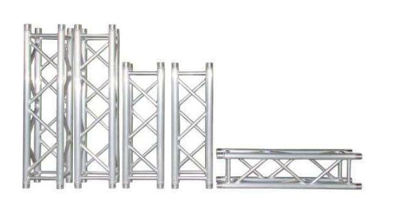 无锡异形铝合金桁架