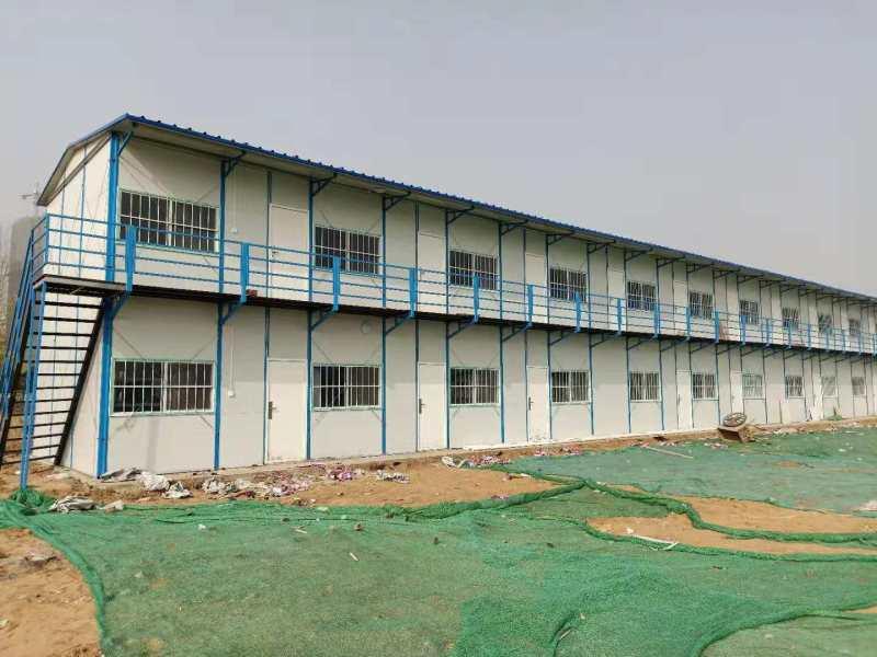 郑州彩板房厂家:彩板房的加固方法和安装注意事项