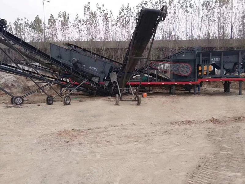 青州洗沙破碎机