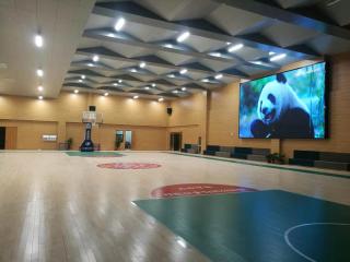 郑州市经开区某中学体育馆项目