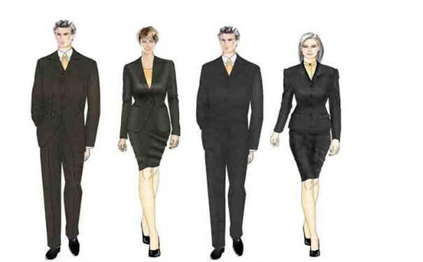 职业装的四种类型以及如何选择职业装
