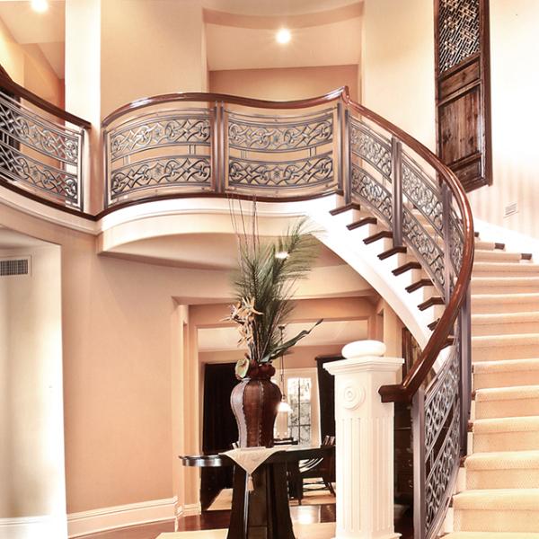 铝艺楼梯扶手的产品优势及其清洁保养知识