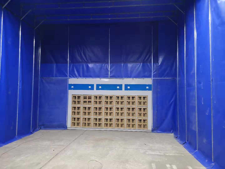 青海喷漆房|河南可信赖的伸缩移动喷漆房供应商是哪家