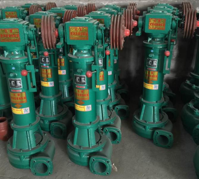 4寸NL100-16合金密封双叶轮立式机带泥浆泵