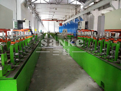 高端钛焊管生产线