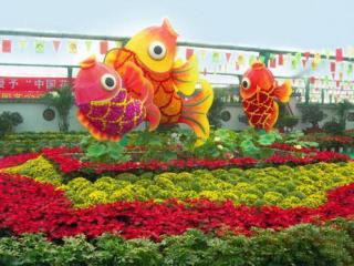 花卉造型-鱼