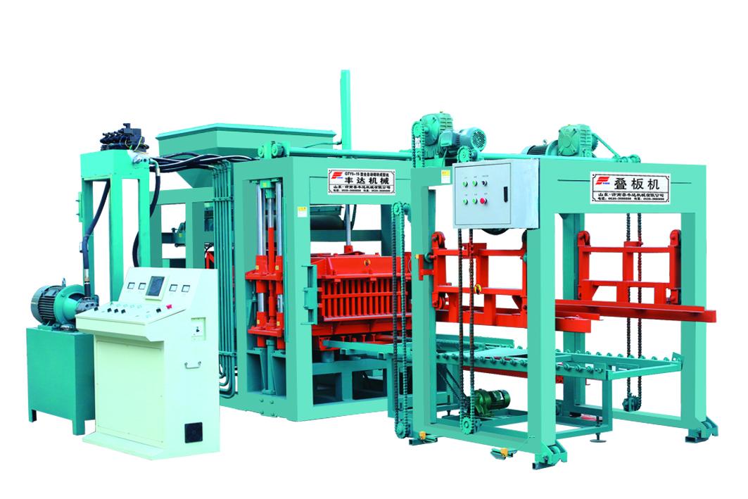 销量好的QTY5-15型全自动砌块成型机在哪可以买到-上海空心砖机