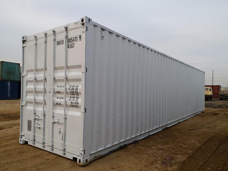 划算的salecontainer_青岛哪里有供应实惠的12米翻新定制logo集装箱