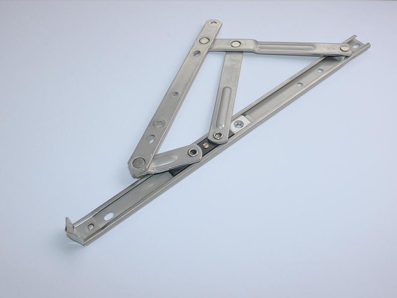 「不锈钢滑撑门插销」平开窗滑撑如何选购及门窗五金配件的用途