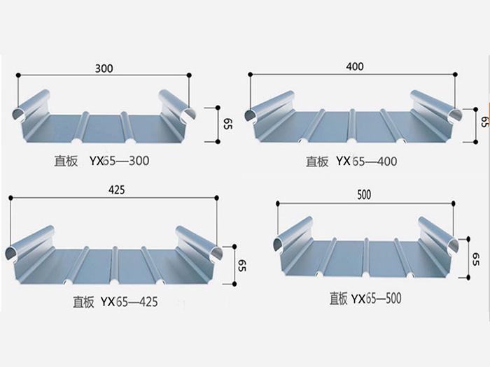 铝镁锰金属屋面系统应用 大跨度屋面