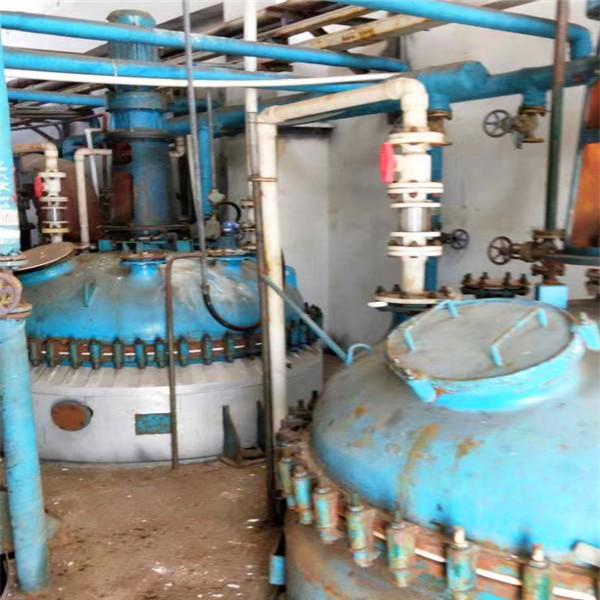 二手12吨搪瓷反应釜 供应济宁实惠的二手搪瓷反应釜