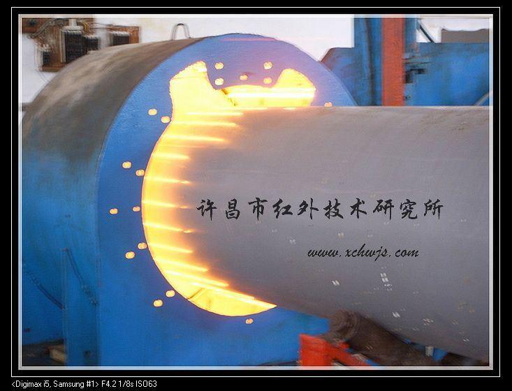 红外辐射加热管承受的温度是取决于选择的材质