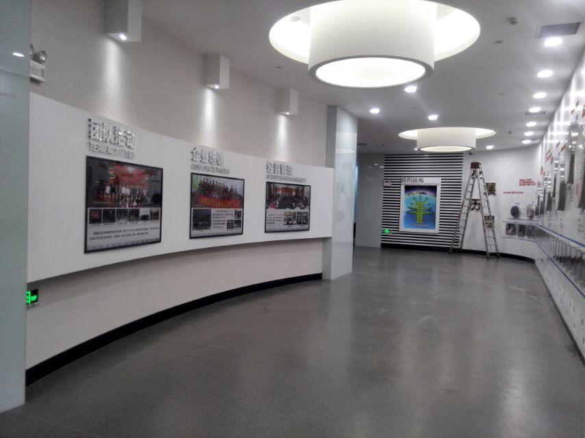 景豪專業提供企業展廳裝修工程_建筑裝修裝飾施工方案