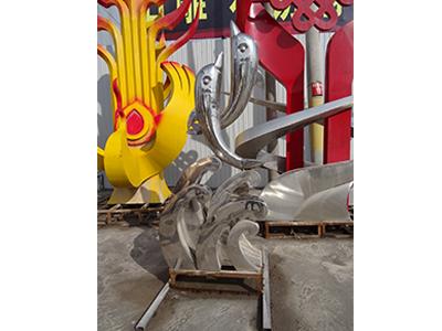 武汉不锈钢雕塑厂家直销-德伟石材雕塑_专业不锈钢雕塑供应商