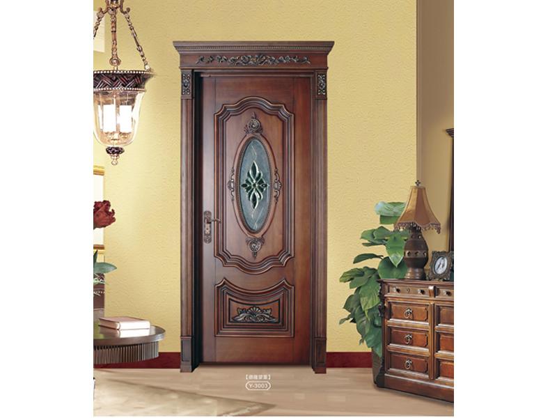 怎么买具有口碑的玻璃门系列呢 -纯实木门图片