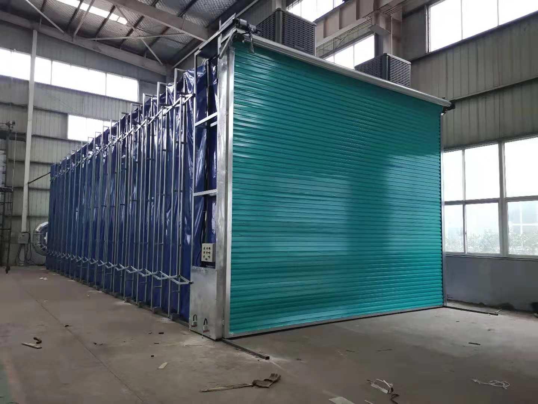 郑州哪里有供应优惠的伸缩移动喷漆房,甘肃环保喷漆房