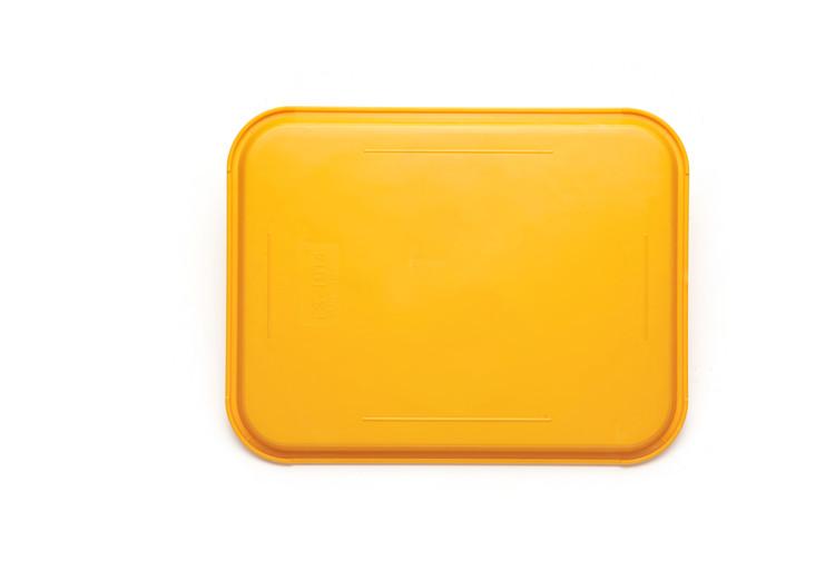 悅風順金屬制品廠供應優良小號托盤yuefs001黃 自助快餐托盤
