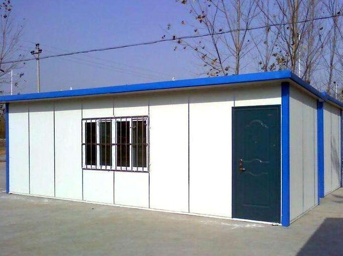 集装彩板房价格