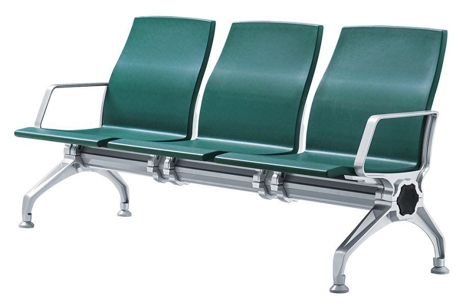 PU铝合金连排椅