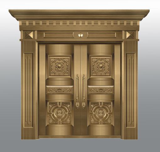 優良的銅門哪里有賣-豪華別墅銅門訂做