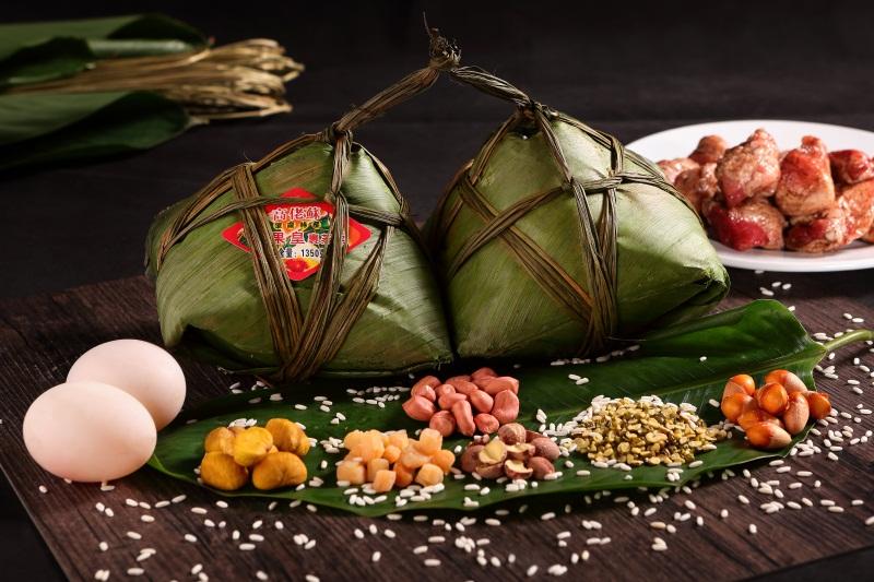 广东柴火蒸煮粽子|供应广东优惠的栗果皇裹蒸粽