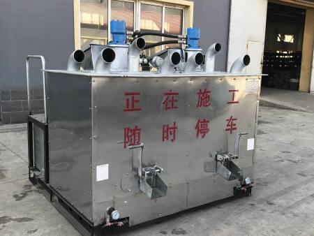 双缸液压传动热熔釜