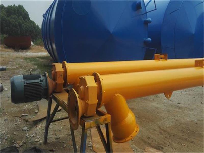 水泥仓厂家分享螺旋输送机物料堵塞的解决方案