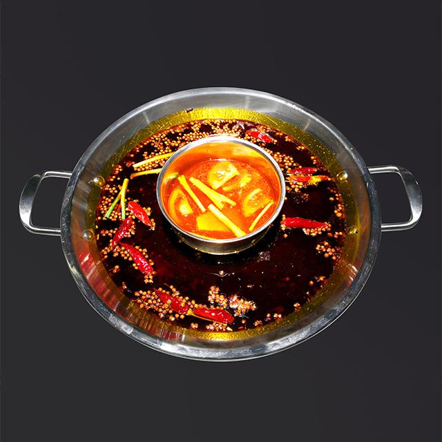 重庆鲜货火锅-番茄+麻辣
