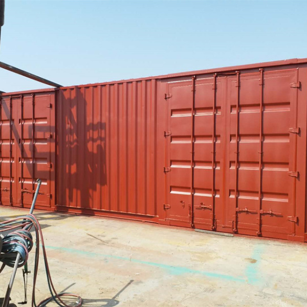 侧开门集装箱